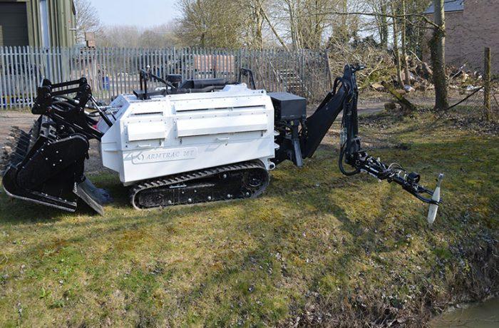 A20T Mk2 using Robotic Arm and Manipulator on UXO