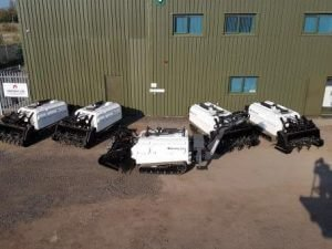 Armtrac 20T Mk2s destined for Colombia and Kurdistan