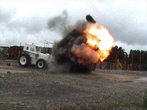 bomb disposal equipment