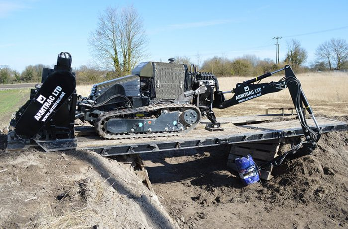 A20T Mk1 using Robotic Arm and Manipulator on IED