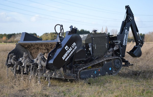 A20T Mk1 with Tiller and Backhoe/Robotic Arm