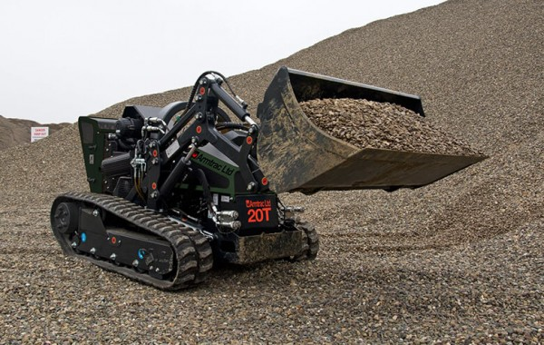 A20T with Front Loding Bucket